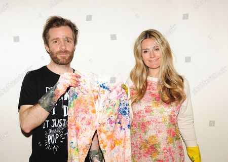 Stock Photo of Simeon Farrar and Donna Ida