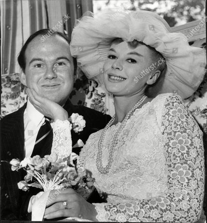 Stock Image of Mr And Mrs David Ramsay Who Were Married At Caxton Hall Photographed At The Dorchester.