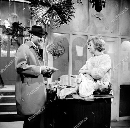 Patrick Macnee and Clare Kelly
