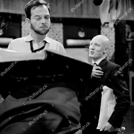 Peter Arne and John Hollis