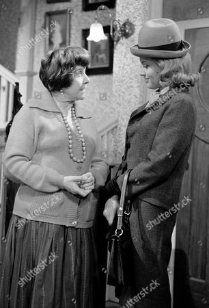 Constance Chapman and Honor Blackman