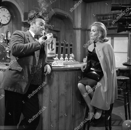 Richard Leech and Honor Blackman