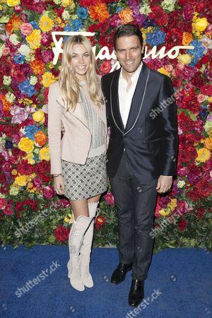 Jessica Hart and James Ferragamo
