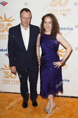 Stock Picture of Nigel Perry and Melanie Dunea