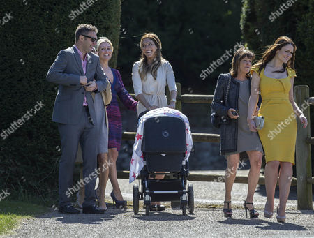 Jonathan Wilkes, Ayda Field and Susie Amy