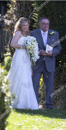 Editorial image of Pete Conway and Melanie Mills Wedding at Compton Bassett, Wiltshire, Britain - 01 May 2013