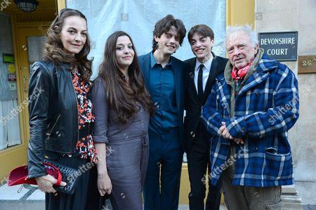 Catherine Bailey, Paloma Bailey, Fenton Bailey, Sascha Bailey and David Bailey