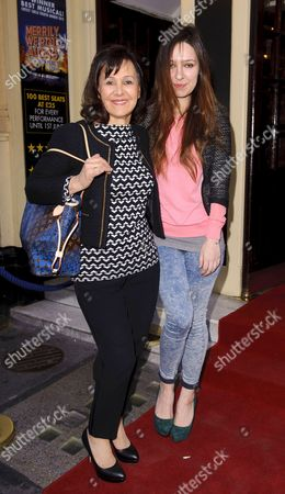 Arlene Phillips with daughter Abi Phillips