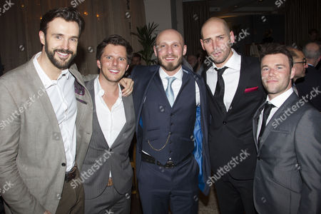Editorial photo of 'Merrily We Roll Along' play press night after party, London, Britain - 01 May 2013
