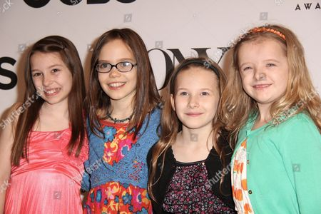 Bailey Ryon, Oona Laurence, Sophia Gennusa and Milly Shapiro