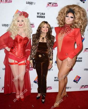 Editorial photo of RuPaul's Drag Race Season 5 Finale, Reunion and Coronation Taping, Los Angeles, America - 01 May 2013