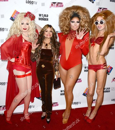Editorial image of RuPaul's Drag Race Season 5 Finale, Reunion and Coronation Taping, Los Angeles, America - 01 May 2013