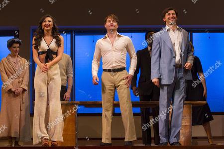 Editorial image of 'Merrily We Roll Along' play, press night at the Harold Pinter Theatre, London, Britain - 01 May 2013