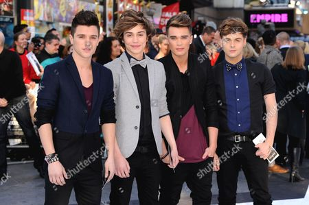 Union J - Jamie Hamblett,   George Shelley, Josh Cuthbert and Jaymi Hensley