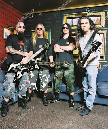 Kerry King, Jeff Hanneman, Paul Bostaph, Tom Araya