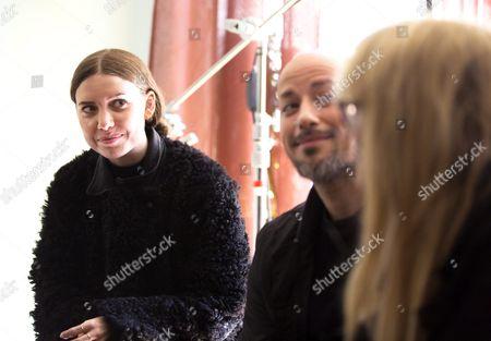 Lykke Li, director Tarik Saleh, actress Moa Gammel