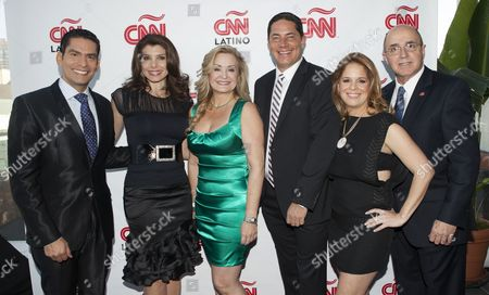 Editorial image of CNN Espanol and CNN Latino 2013 Upfront, New York, America - 02 May 2013