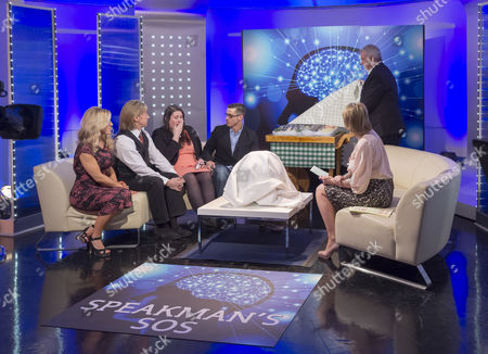 Eva and Nik Speakman, Roxanne Varley, Tom Dixon, Rob Mcaughlin with Eamonn Holmes and Ruth Langsford