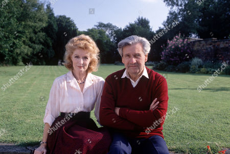 Stock Photo of Ludovic Kennedy with wife Moira Shearer