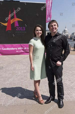 Mairead Carlin,singer and songwriter and Frank Gallagher,music producer