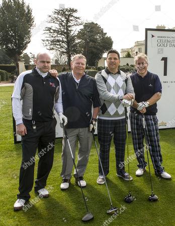 Warren Clarke, Dom Joly and Simon Kelner