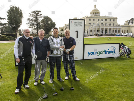 Editorial image of Heroes National Celebrity Golf Day, Stoke Park, Buckinghamshire, Britain - 24 Apr 2013