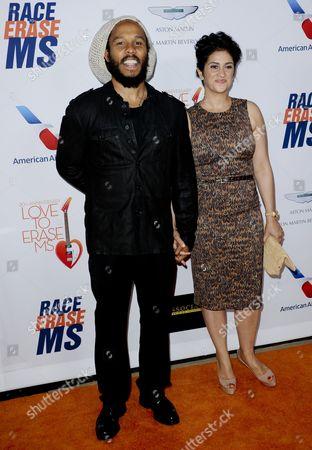 Ziggy Marley & wife Orly Marley