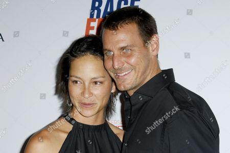 Ingo Rademacher & wife Ehiku Rademacher
