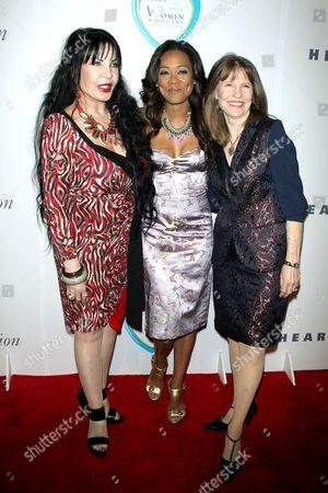 Stock Photo of Loreen Arbus, Robin Givens and Donna Hanover