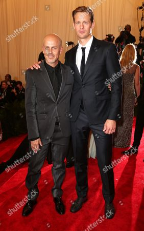 Stock Picture of Italo Zucchelli and Alexander Skarsgaard