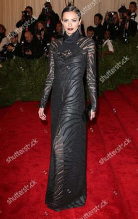 Editorial photo of Costume Institute Gala Benefit celebrating the Punk: Chaos To Couture exhibition, Metropolitan Museum of Art, New York, America - 06 May 2013