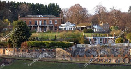 Sir William Mcalpine Who Is Marrying Judy Nicholls Shortly After The Death Of His Wife Pictured Is The House Photographed On The Estate Land. Their Two-year Romance Has Been Overshadowed By Controversy Because Until Sir William's First Wife Jill Died After A Long Illness Seven Weeks Ago Judy Was His Mistress And De Facto Chatelaine Of His 200-acre Pile In Buckinghamshire. He Moved Her Into The House Last January After Announcing In His Christmas Cards That He And Jill Had Legally Separated After 44 Years Together.