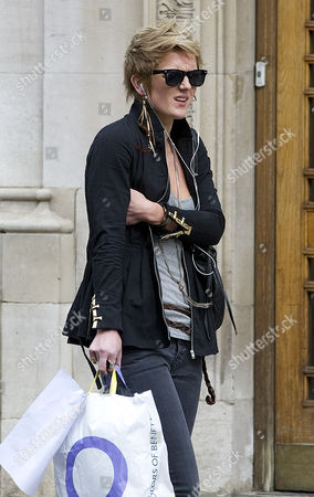 Picture Shows Lady Catherine Brudenell-bruce Outside The London Clinic Central London Today. The Voice Contestant Stage Name Bo Bruce Is The Daughter Of Earl Of Cardigan David Brudenell-bruce.