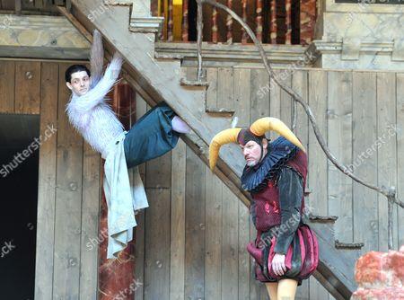'The Tempest' - Colin Morgan as Ariel and Trevor Fox as Trinculo