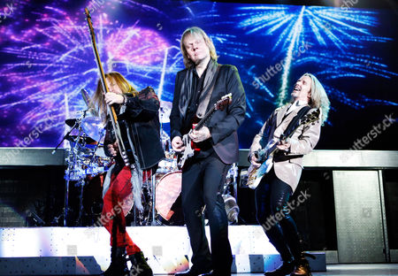 """Styx - Tommy Shaw, James """"JY"""" Young, Ricky Phillips"""