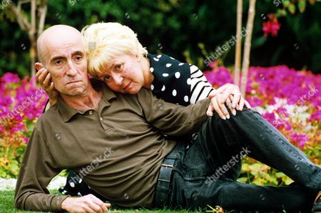 Lynne Perrie and son Stephen