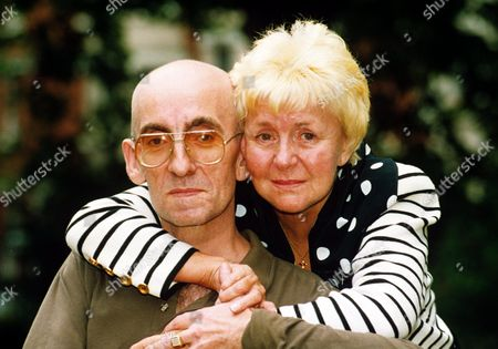 Stock Picture of Lynne Perrie and son Stephen
