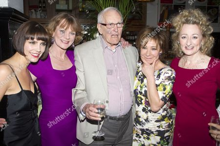Annabel Scholey (Kate), Samantha Bond (Nell), Peter Nichols (Author), Zoe Wanamaker (Eleanor) and Sian Thomas (Agnes)
