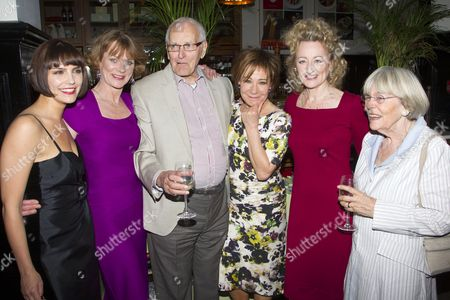 Annabel Scholey (Kate), Samantha Bond (Nell), Peter Nichols (Author), Zoe Wanamaker (Eleanor), Sian Thomas (Agnes) and Thelma Nichols