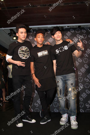 Stock Image of Guest, Jaden Smith and JJ Lam