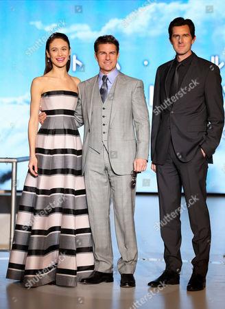 Editorial image of 'Oblivion' film premiere, Tokyo, Japan - 08 May 2013