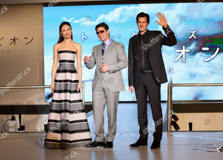 Editorial picture of 'Oblivion' film premiere, Tokyo, Japan - 08 May 2013