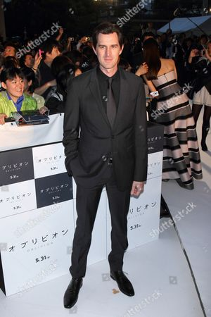Editorial image of 'Oblivion' film premiere, Tokyo, Japan - 08 May 2013