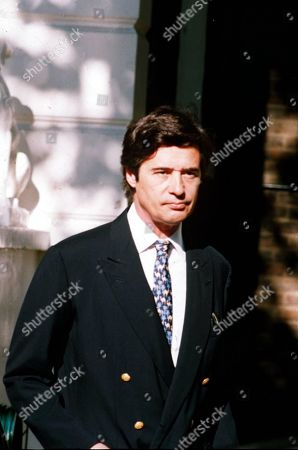 Editorial image of OLIVER HOARE, FRIEND OF PRINCESS DIANA WHO RECEIVED ANONYMOUS MALICIOUS TELEPHONE CALLS PEST NUISANCE HIS WIFE IS ALSO CALLED DIANA BRITAIN - 1994