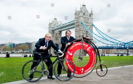 Boris Johnson and Lord Mayor Roger Gifford