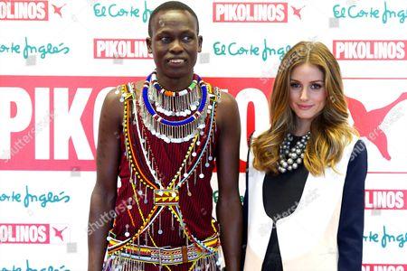 William Kikanae and Olivia Palermo