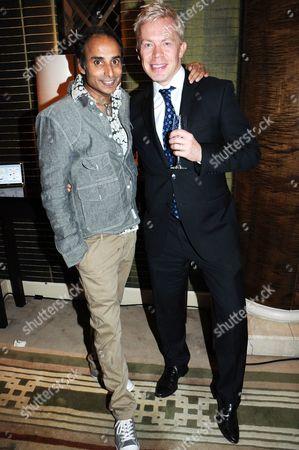 Reza Mahammad and Paul Newrick