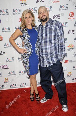 Stock Photo of Brandi Passante and Jarrod Schultz