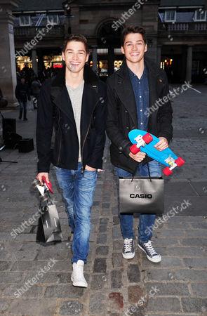 Finn and Jack Harries