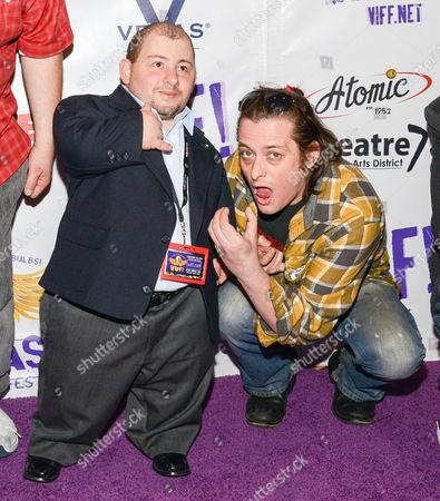 Vegas Indie Film Fest Host and Edward Furlong